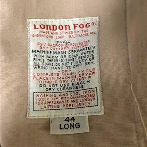 London fog 44 long jacket